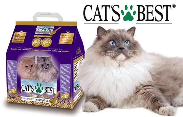 наполнитель кошачьего туалета Cats Best