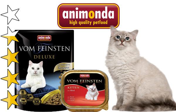 корм для кошек анимонда