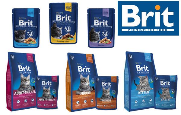 Корм для кошек Брит премиум (Brit Premium)