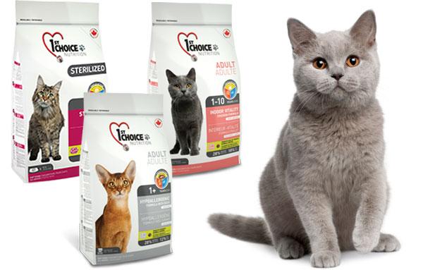 Линейка кормов для кошек Фест Чойс