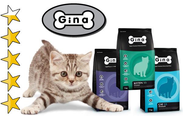 Корм для кошек Джина