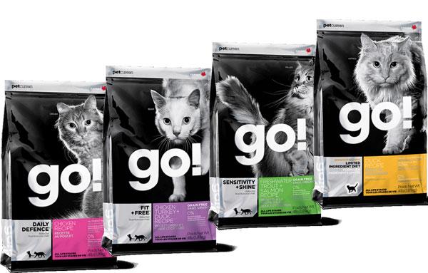 Сухой корм для кошек Go