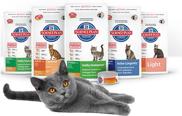 Хиллс для кастрированных котов
