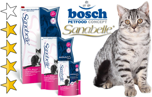Корм для кошек Санабель