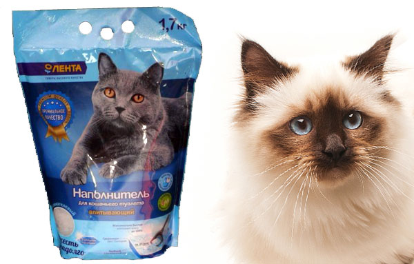Наполнитель для кошачьего туалета Лента