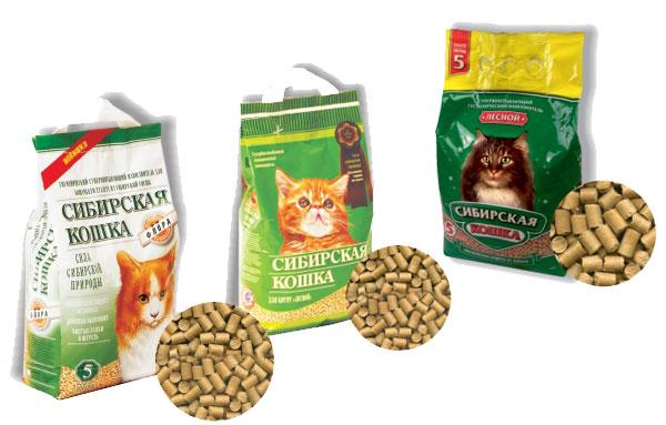 Древесные наполнители для кошачьего туалета сибирская кошка