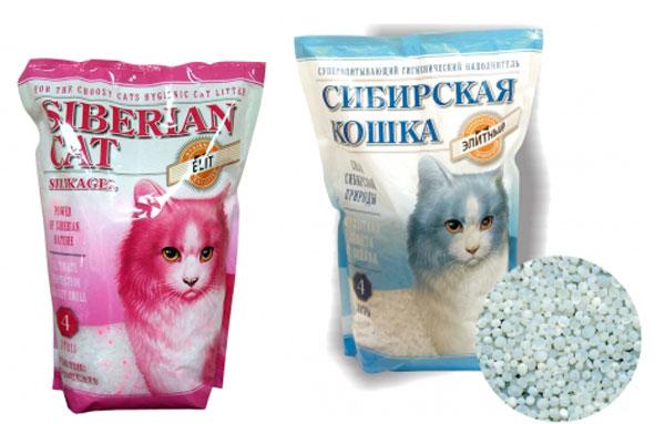 Впитывающие из силикагеля наполнители для кошачьего туалета сибирская кошка