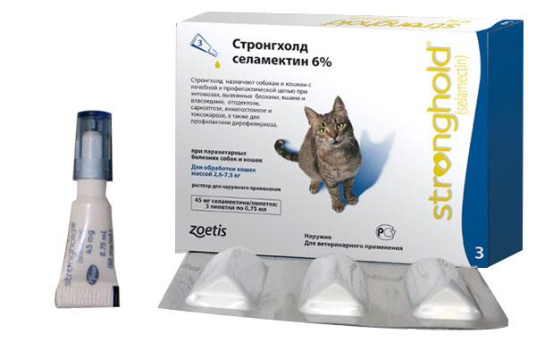 Стронгхолд цена для кошек инструкция