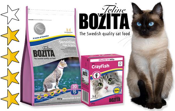 Корм для кошек Бозита