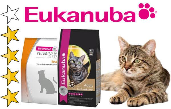 Корм для кошек Эукануба