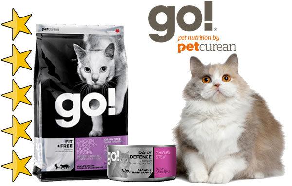 Корм для кошек гоу (GO!)