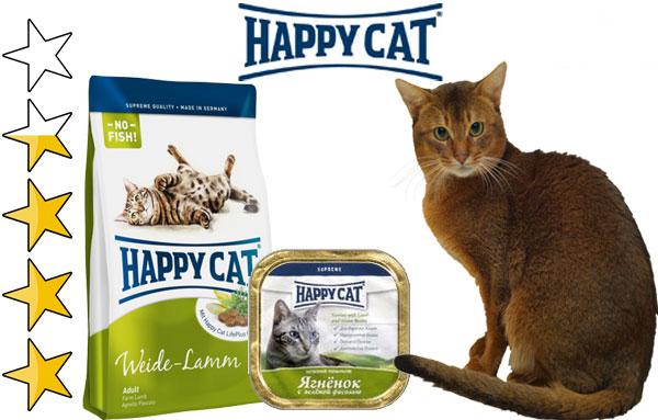 Корм для кошек Хэппи Кэт