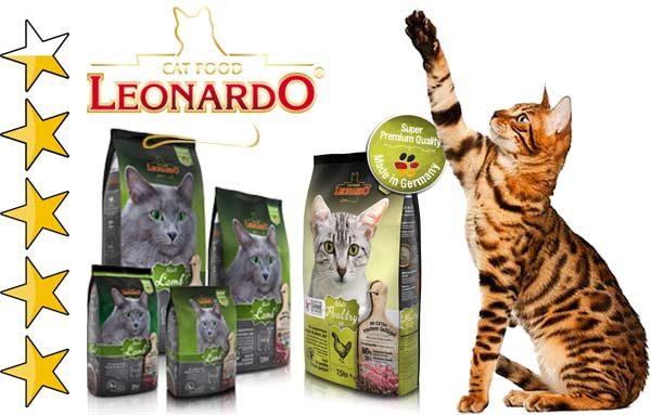 Корм для кошек Леонардо