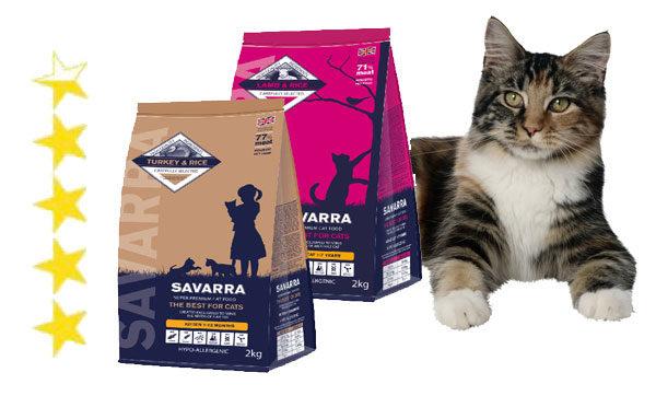 Корм для кошек Савара