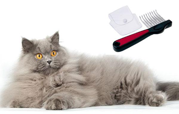 Гребень для длинношерстных кошек